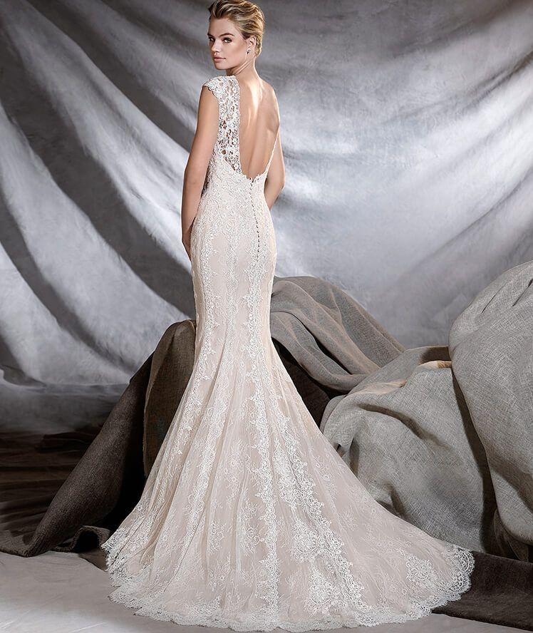 osiris - vestido de novia de guipur y chantilly | vestidos | mejores