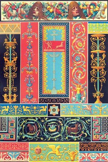 greco roman design 2 fine art print roman and greek art