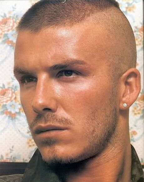 Best And Popular Military Haircuts For Men David Beckham Military - Best hairstyle for army