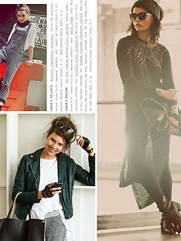 Free People September Catalog 2013