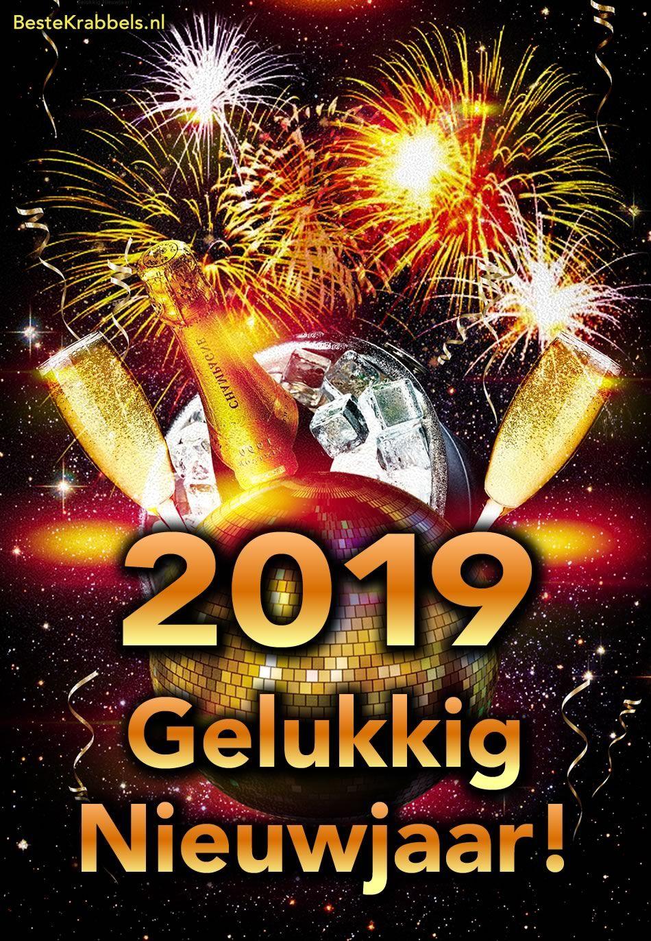 Nieuwjaar 2019 Plaatje 3 Merry X Mas N Happy Nu Year Gelukkig