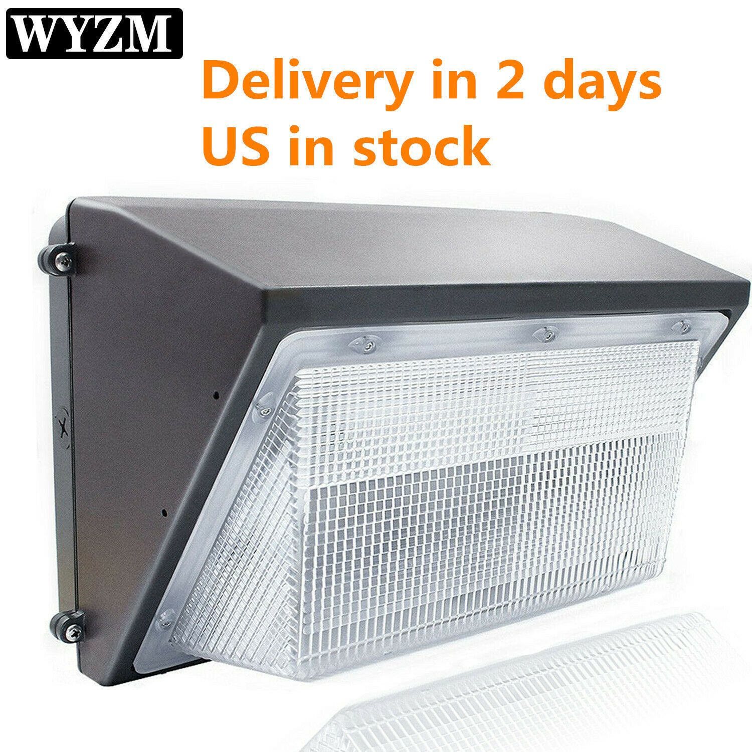 70w 125w Led Wall Pack Lights Dusk To Dawn Outdoor Garden Lamp 250 600w Equiv In 2020 Security Lights Dusk To Dawn Wall Packs