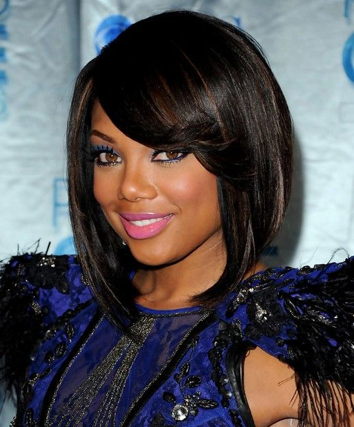 Tiffany Hines Hair Style Short Bob Hairstyles for Black