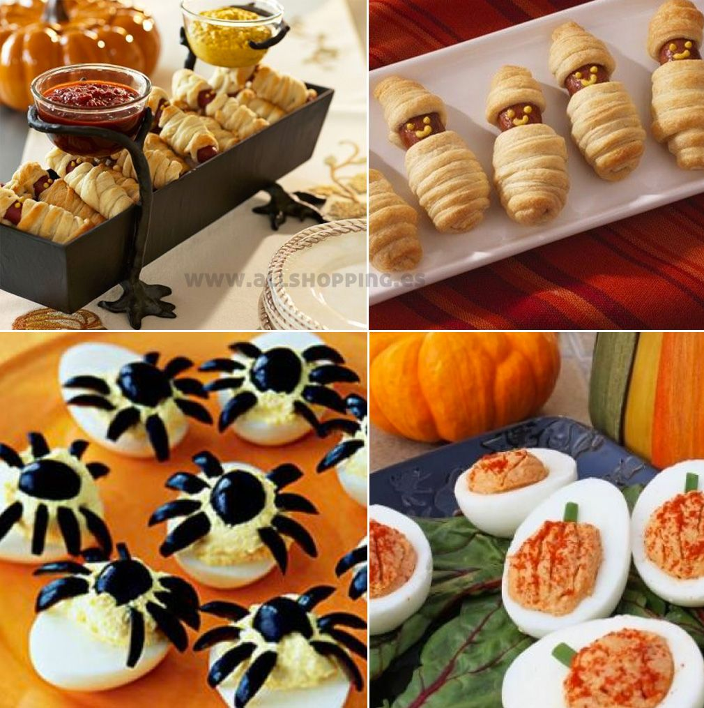 Comidas halloween halloween oto o pinterest - Que cocinar para una fiesta ...