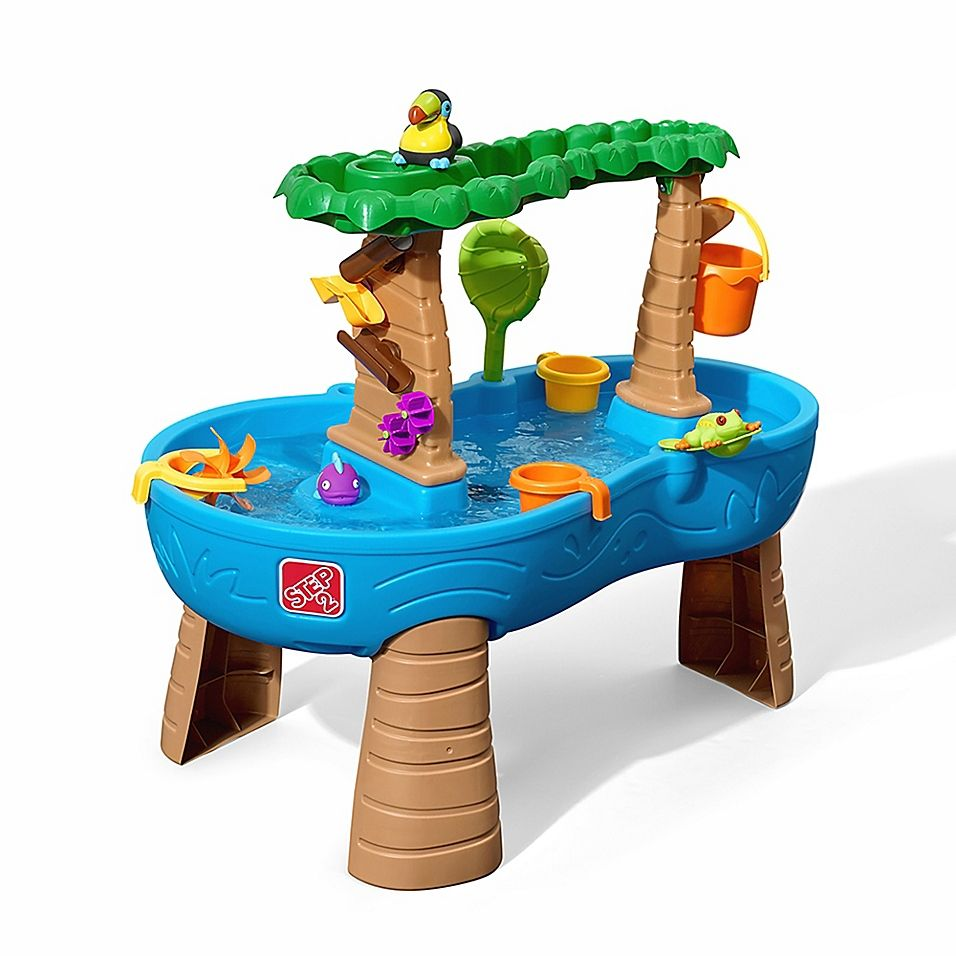 Step2 Tropical Rain Forest Water Table Multi | Pool toys ...