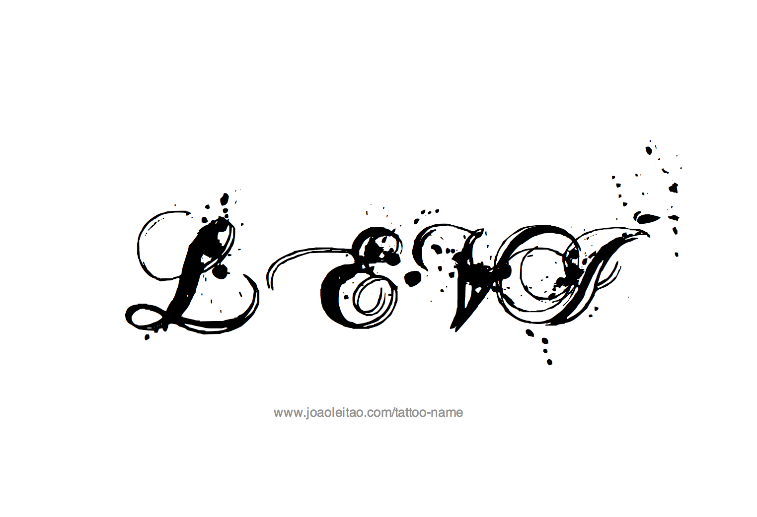 Levi Name Tattoo Designs