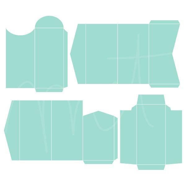 Envelope Templates 4 - Money ·CU· » Miss Tiina Sobres Pinterest - money gift envelope template