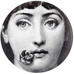 Fornasetti Flower Girl Plate