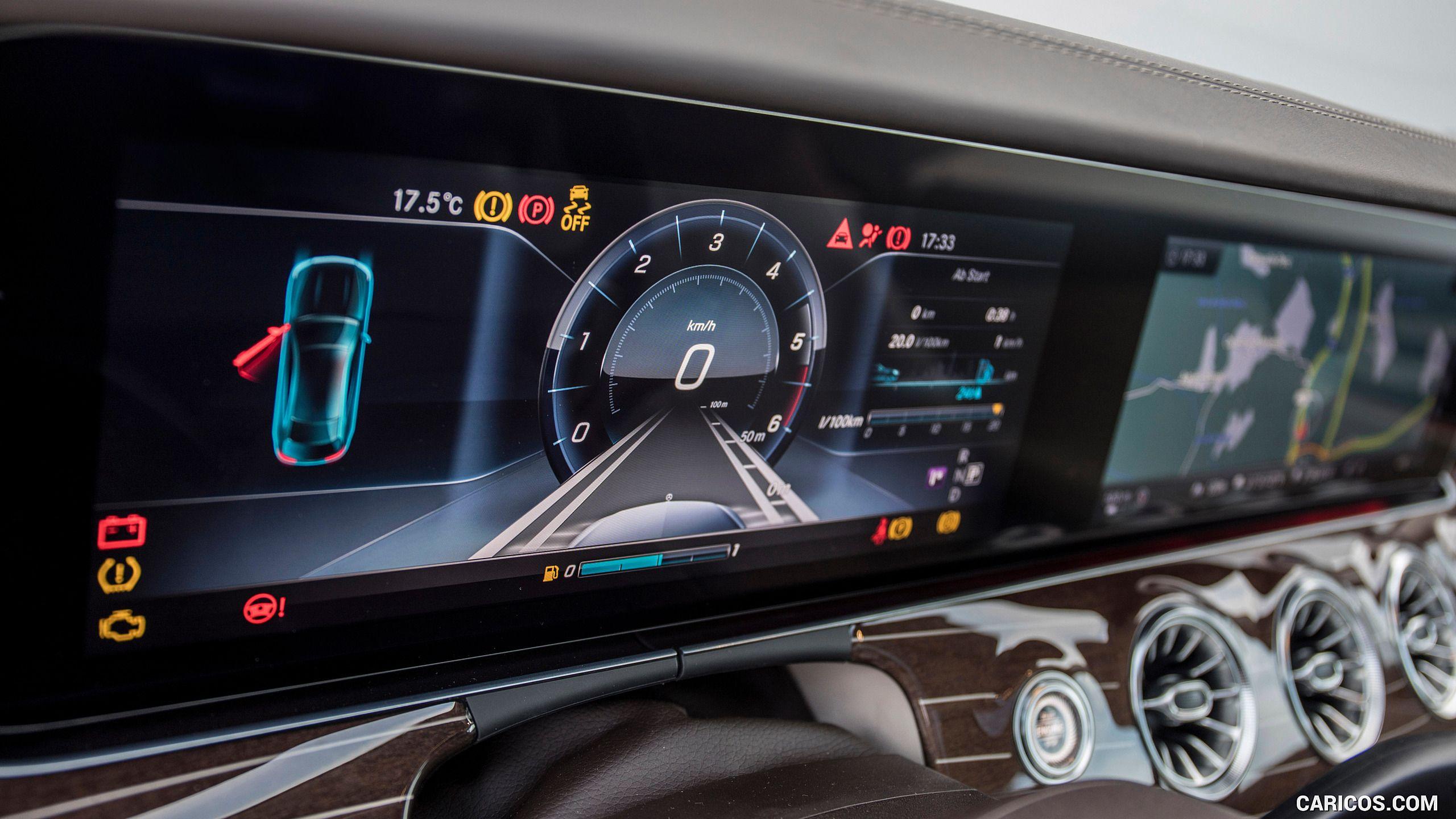 2018 mercedesbenz e400 coupe 4matic central console hd