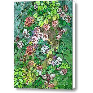 Colored Rose Garden Canvas Print / Canvas Art - Artist Zeana Romanovna  http://www.amazon.com/Colored-Garden-Canvas-Print-Art/dp/B009AI94G4/ref=sr_1_5?s=home-garden=UTF8=1347647222=1-5=Zeana+Romanovna