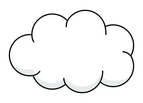 Pin by Cloud Clipart on Cliparts   Clip art, Cloud drawing ...
