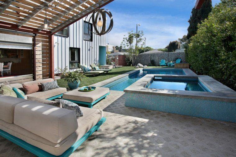 Idées de salon de jardin en palette | Salon de jardin | Pinterest