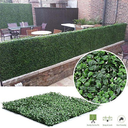 decorative fences synturfmats faux artificial boxwood on interior using artificial boxwood panels with flowers id=24024