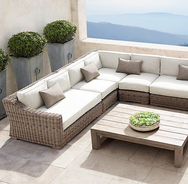 Provence Luxe Customizable Sectionalsave On Select Performance Fabrics Quality Outdoor Furniture Outdoor Furniture Outdoor Furniture Collections
