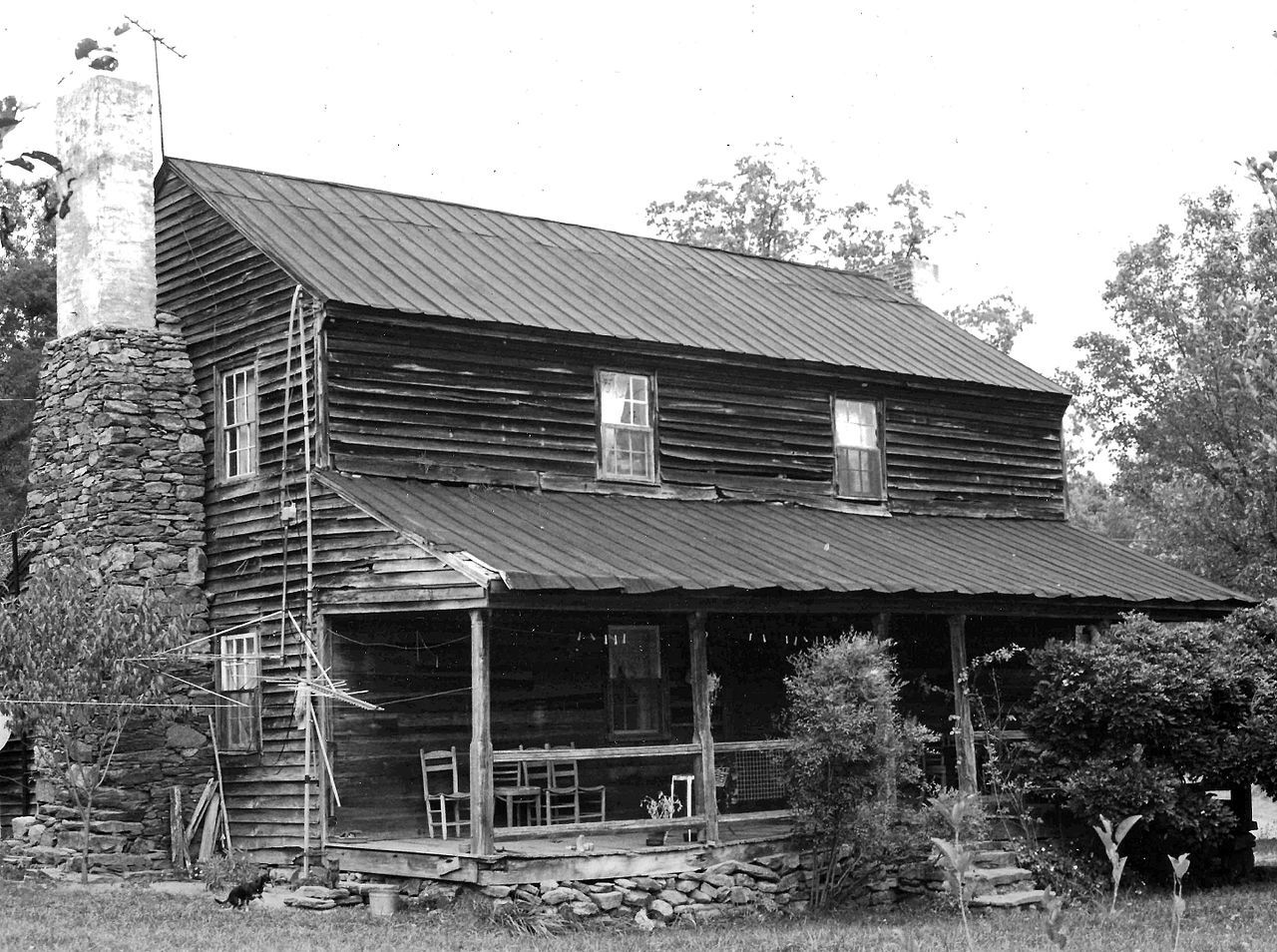 Perciphull Campbell House in Iredell County, North Carolina.