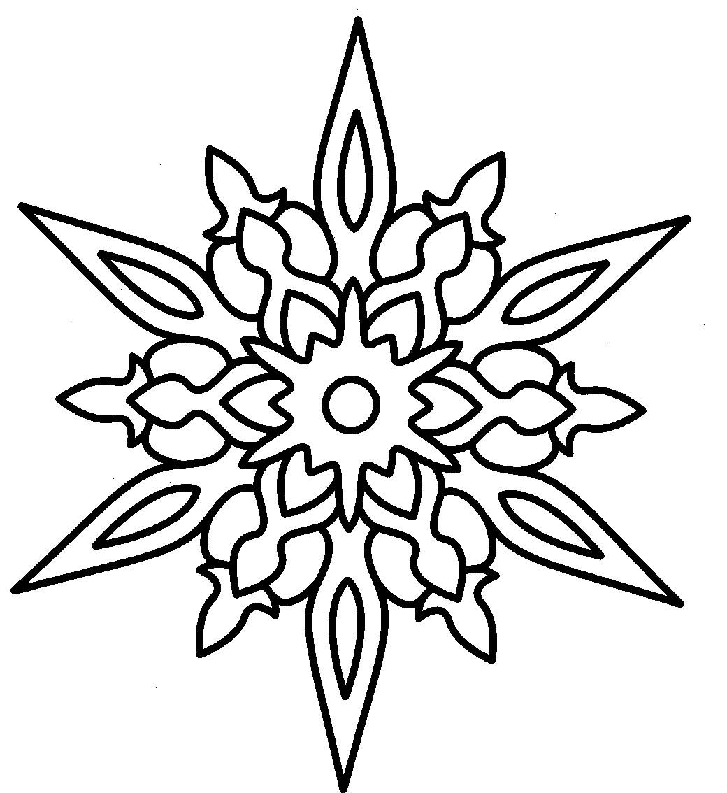 Christmas Star And Hard Earned Coloring Page