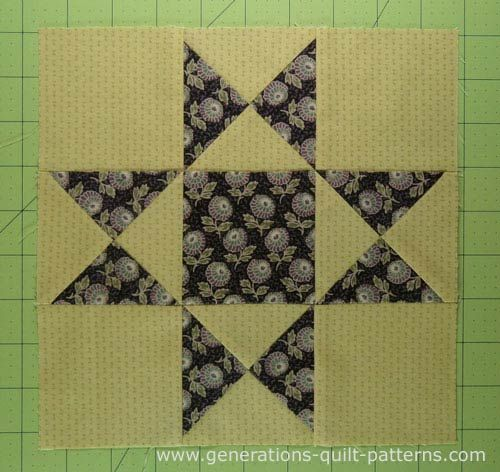 Ohio Star Quilt Block: Illustrated Step-by-Step Instructions in 5 ... : tools needed for quilting - Adamdwight.com