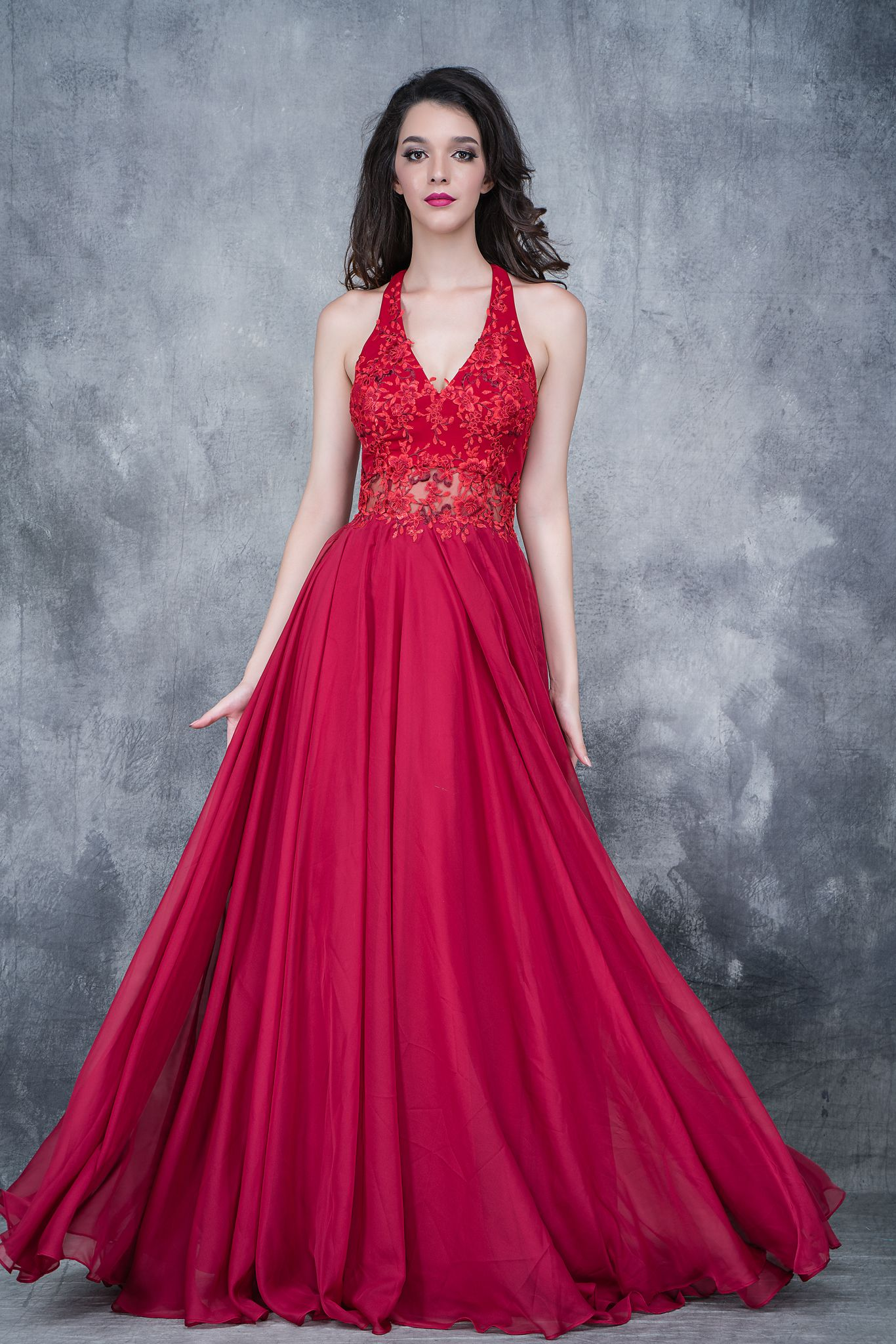 2160 Burgundy Size 18 Prom Dresses Piece Prom Dress Prom Dresses Long