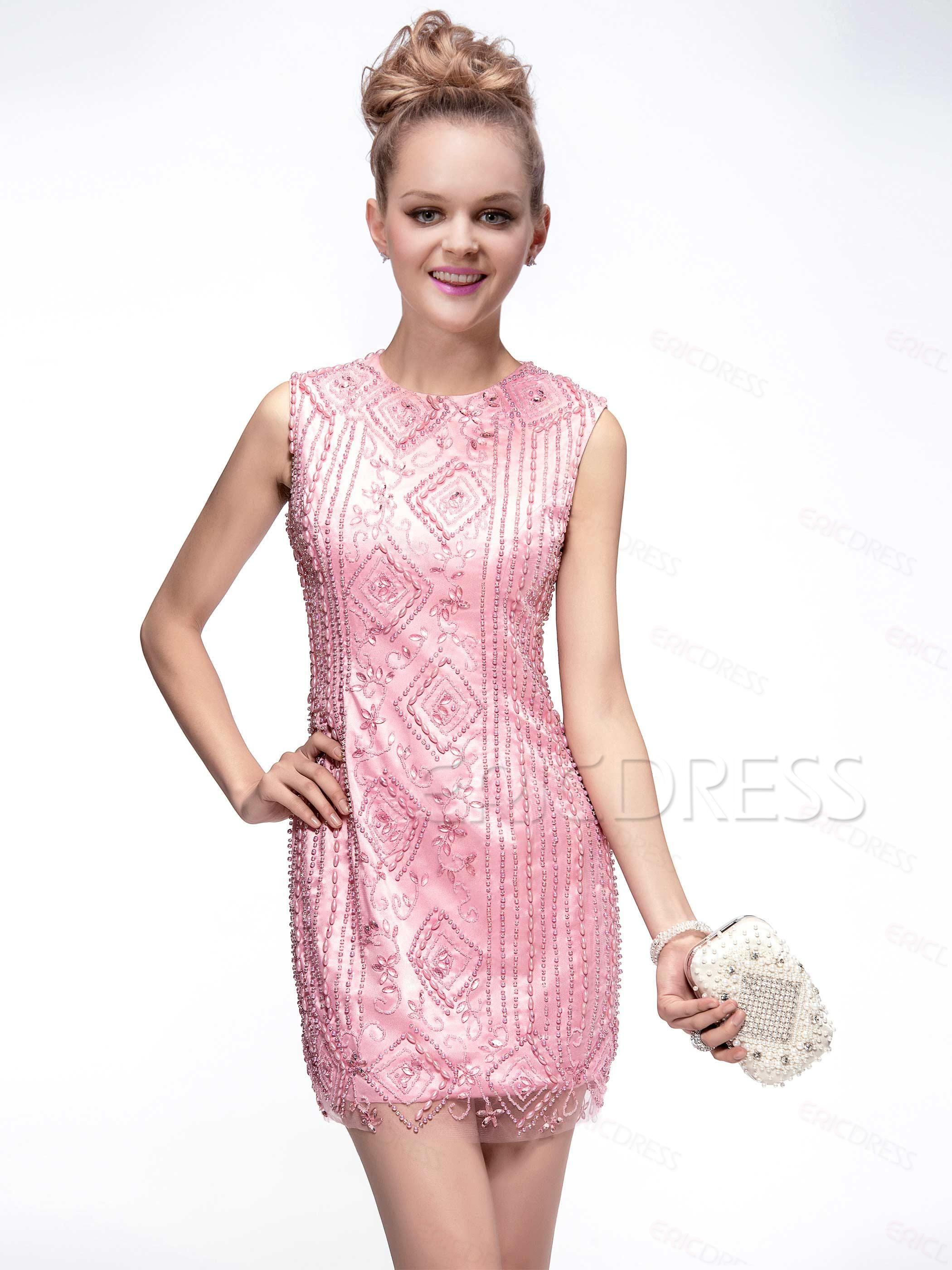 Occasion, Fabulous ShortBeadingMini Beading Scoop Neckline CocktailNecklineFormalDressEvening Dress, Dresses,323.99
