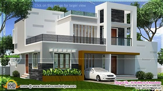 Strange Kerala Home Design And Floor Plans Contemporary Double Storied Largest Home Design Picture Inspirations Pitcheantrous