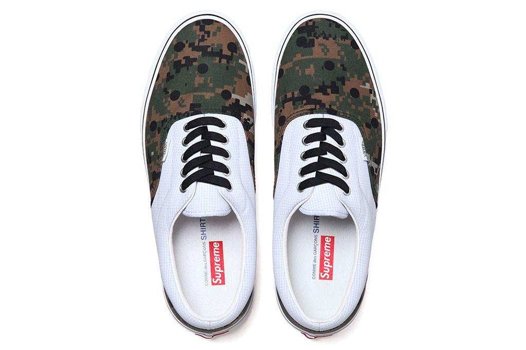 Supreme Camo Sneakers