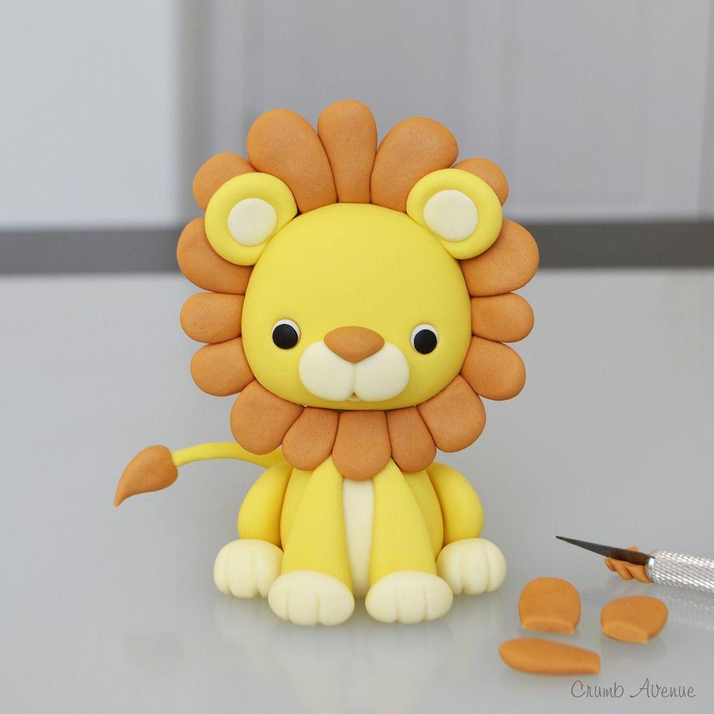 lion tutorial   Projekter, jeg vil prøve   Pinterest   Kage, Kage dekoration og Barnedåb