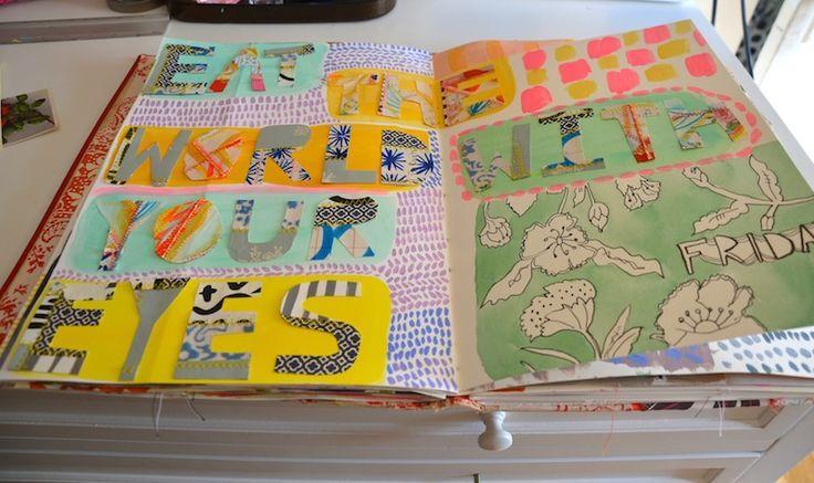 Ideas And Inspiration For Keeping An Art Journal Sketchbook