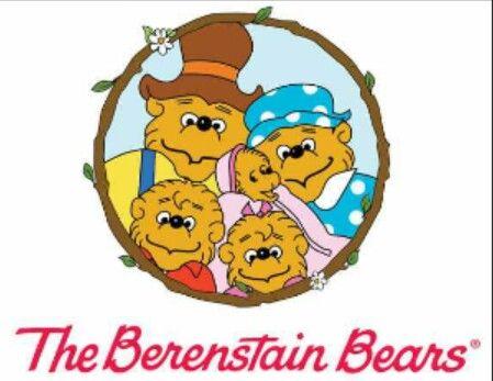 Childhood Book And Nick Jr Cartoon The Berenstain Bears Too