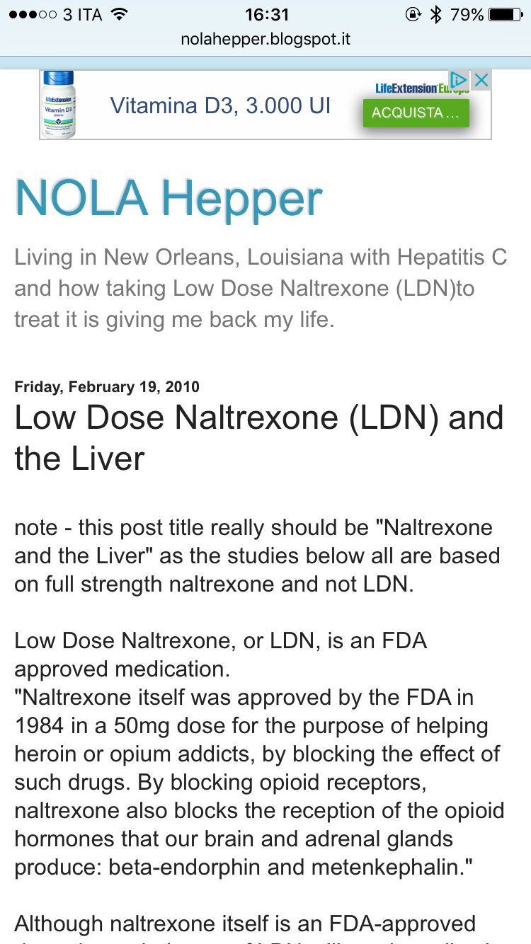 Low Dose Naltrexone Ldn And The Liver Fibromyalgia Treatment
