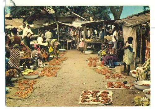 Sellers in East African Village