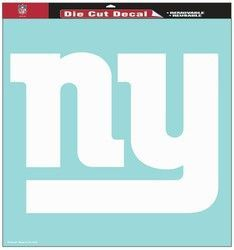 "New York Giants 18""x18"" Die Cut Decal"