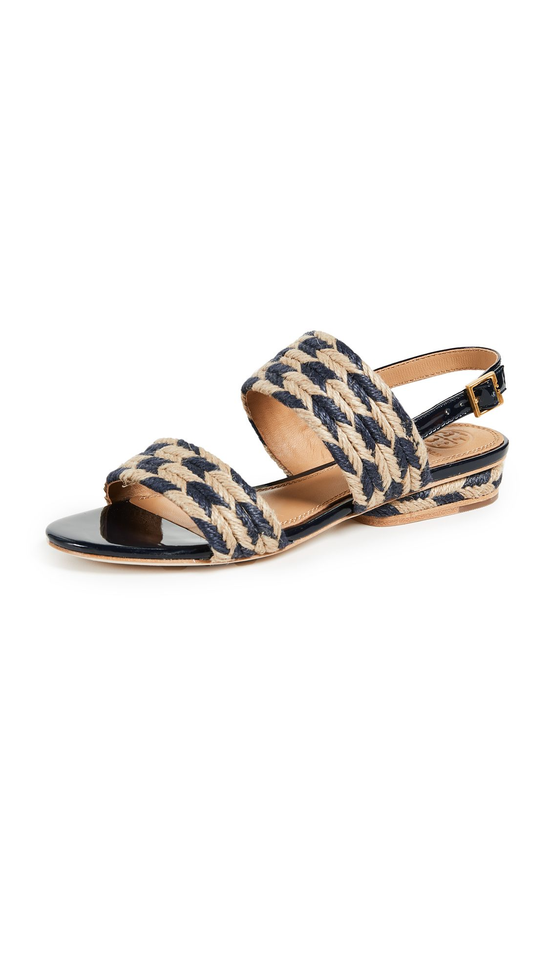 523afb10a044 TORY BURCH LOLA FLAT SANDALS.  toryburch  shoes