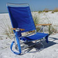 $90 Swivel Beach Chair...wonder If It Weighs A Ton?  Http://www.beachchairs.com/beach Chairs/beach Chairs /suntrackerswivelloungerbeachchair.cfm