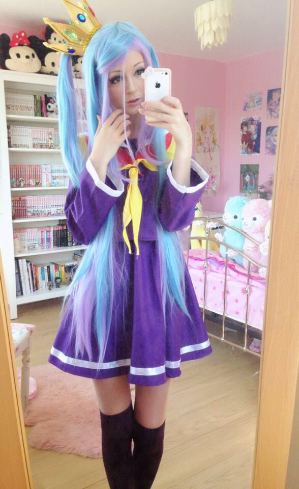 Shiro cosplay - no game no life by noodlerella