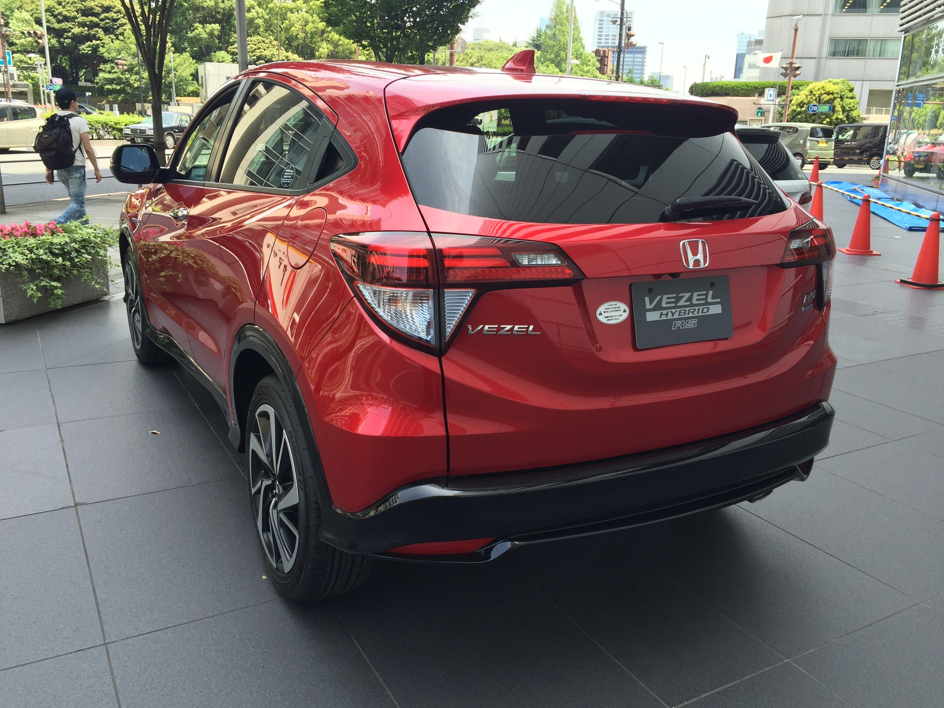 Honda vezel hybrid june 2016 harold archer
