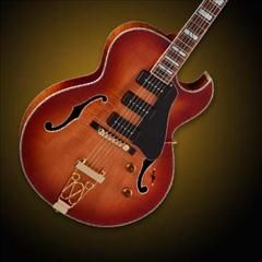 Hellomusic Dean Dean Palomino Series Flame Maple Hollow Body Electric Guitar Honey Sunburst Body Electric Electric Guitar Guitar