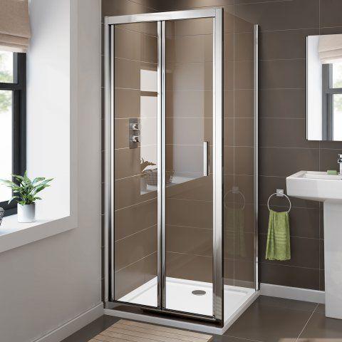 1000x800mm 6mm Elements Easyclean Bi Fold Door Shower Bifold
