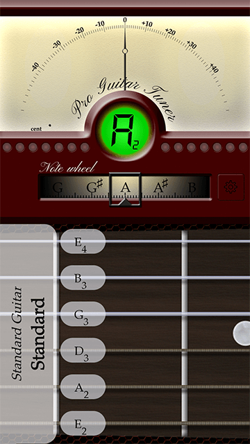 Android Guitar Tuner (With images) Guitar tuners, Guitar