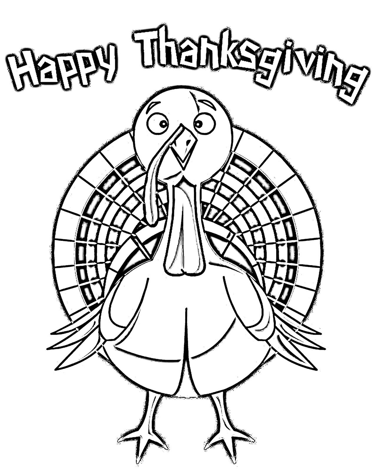 Thanksgiving Coloring Page Happy Thanksgiving Turkey Thanksgiving Coloring Pages Coloring Pages Happy Thanksgiving Turkey