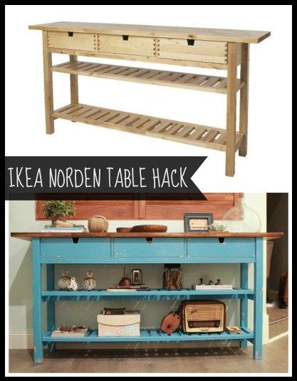 Ikea Norden Hack By Firefinish Home Design Ideas Ikea Table