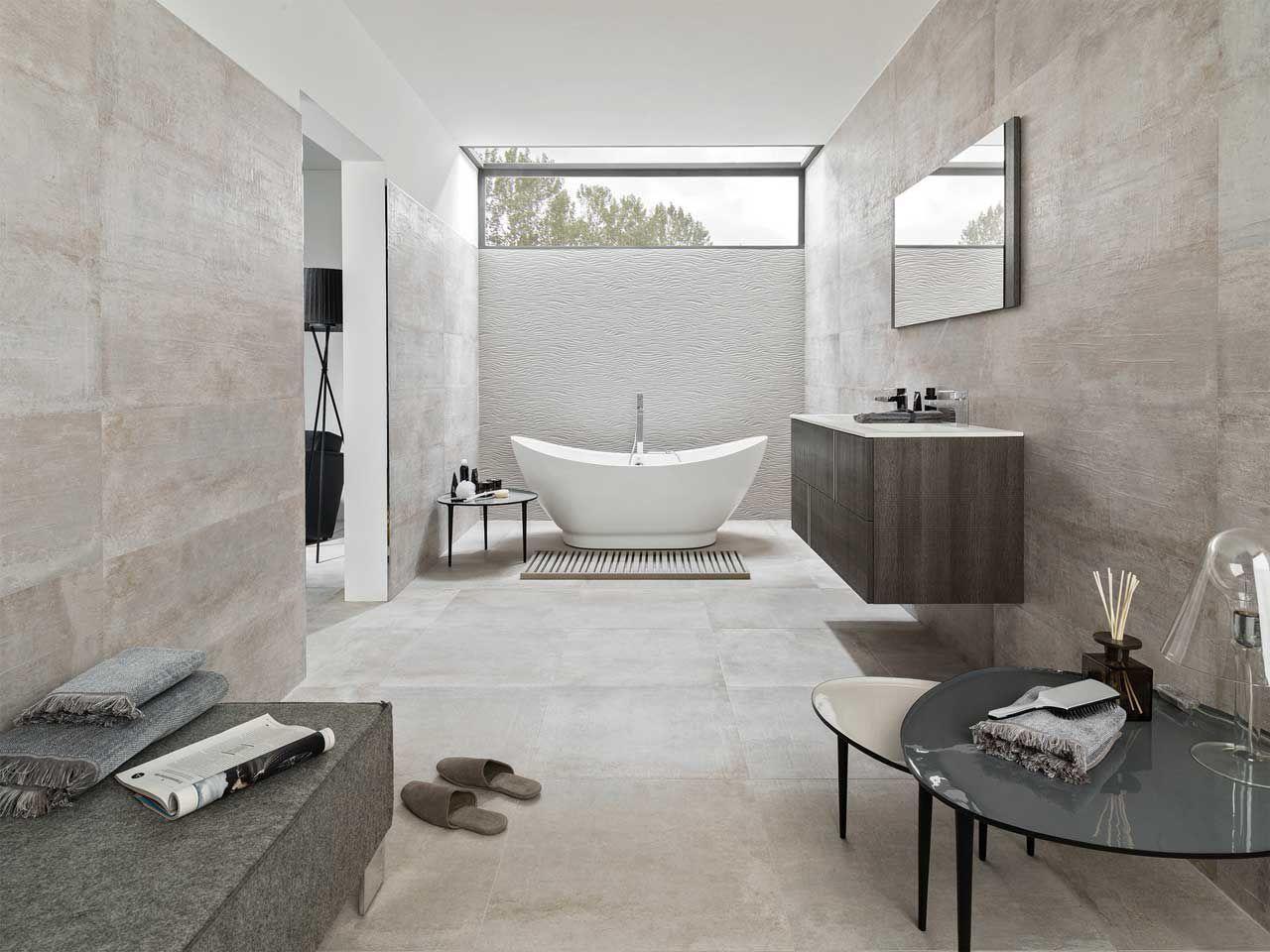 Baldosa de ba o de pared de cer mica pulida newport - Salle de bains porcelanosa ...