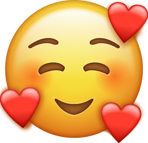 smile emoji with hearts free download all emojis emoji island