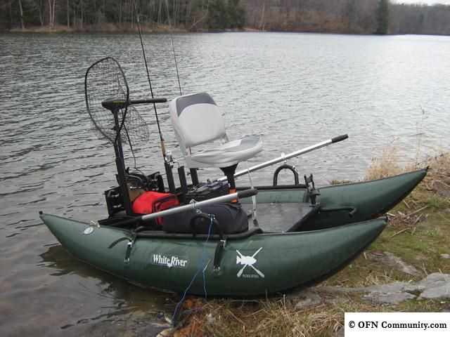 Stand up pontoon boat google search pontoon boats for Fly fishing pontoon boats