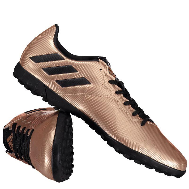 Chuteira Adidas Messi 16.4 TF Society Dourada Somente na FutFanatics você  compra agora Chuteira Adidas Messi 16.4 TF Society Dourada por apenas R   199.90. 6d5cd1624ced9