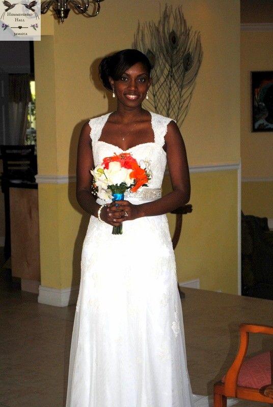 Gorgeous bride pre-wedding at award winning destination wedding venue Hummingbird Hall Jamaica.