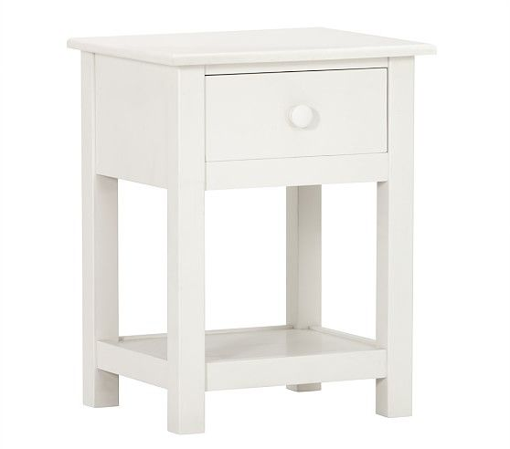 Kendall Nightstand White Nightstand Changing Table