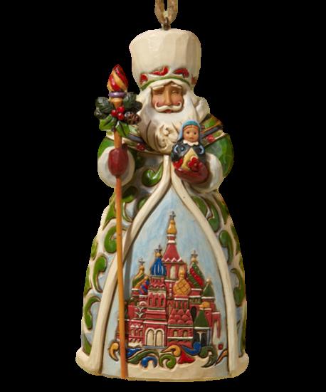 Jim Shore Russian Santa Jim Shore Christmas Christmas Ornaments Santa Ornaments