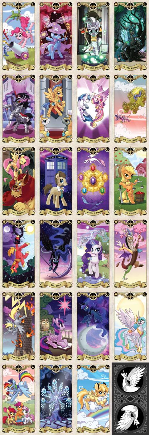 My Little Pony Tarot cards.