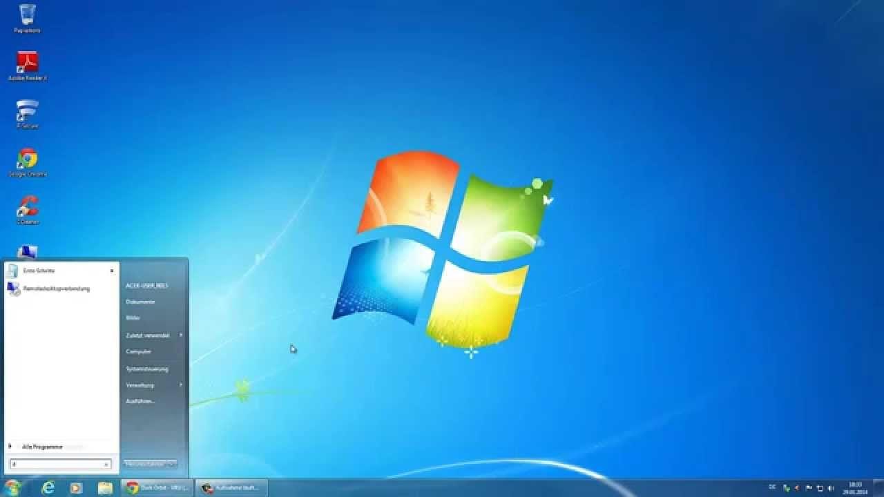 Windows 7 Tutorial - PC schneller starten/machen