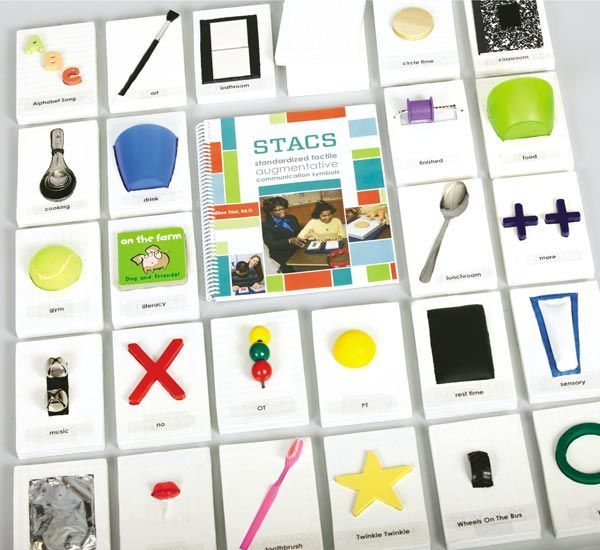 Stacs Standardized Tactile Augmentative Communication Symbols Kit